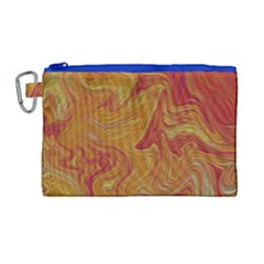 Texture Pattern Abstract Art Canvas Cosmetic Bag (large) by Nexatart