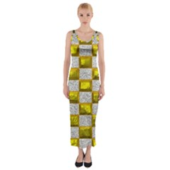 Pattern Desktop Square Wallpaper Fitted Maxi Dress