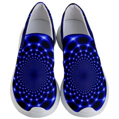 Indigo Lotus  Women s Lightweight Slip Ons by vwdigitalpainting