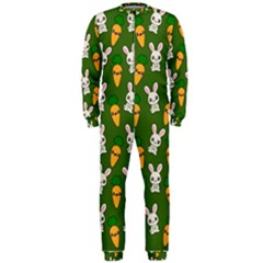 Easter Kawaii Pattern Onepiece Jumpsuit (men)  by Valentinaart
