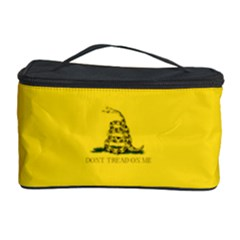 Gadsden Flag Don t Tread On Me Cosmetic Storage Case by MAGA