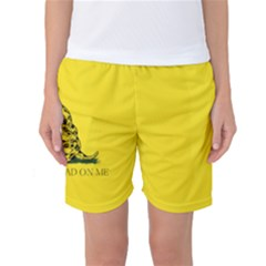Gadsden Flag Don t Tread On Me Women s Basketball Shorts by gooomega