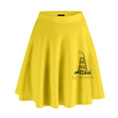 Gadsden Flag Don t Tread On Me High Waist Skirt by gooomega