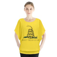 Gadsden Flag Don t Tread On Me Blouse by MAGA