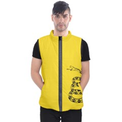 Gadsden Flag Don t Tread On Me Men s Puffer Vest by gooomega