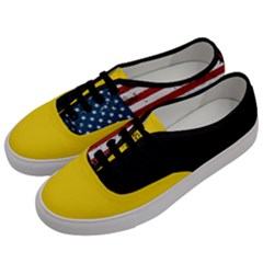Gadsden Flag Don t Tread On Me Men s Classic Low Top Sneakers by MAGA