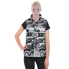 Vehicle Car Transportation Vintage Women s Button Up Vest by Nexatart
