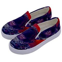 Eve Of Destruction Cgi 3d Sci Fi Space Kids  Canvas Slip Ons by Sapixe