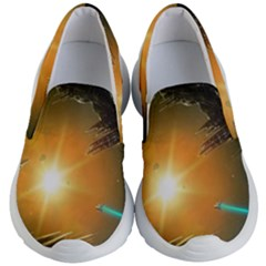 Future City Kid s Lightweight Slip Ons by Sapixe