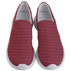 Red Triangulate Women s Lightweight Slip Ons by jumpercat