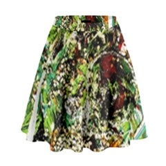 April   Birds Of Paradise 5 High Waist Skirt by bestdesignintheworld