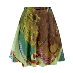Doves Matchmaking 2 High Waist Skirt by bestdesignintheworld