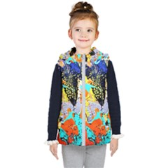 Africa  Kenia Kid s Hooded Puffer Vest by bestdesignintheworld