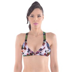 Doves Match 1 Plunge Bikini Top by bestdesignintheworld