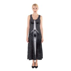Rower Sleeveless Maxi Dress