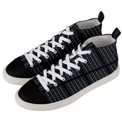 Ability Y Men s Mid Top Canvas Sneakers by mobla