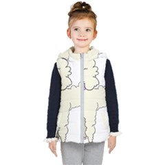 Poodle Dog Breed Cute Adorable Kid s Hooded Puffer Vest by Nexatart