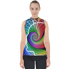 Head Spiral Self Confidence Shell Top by Sapixe