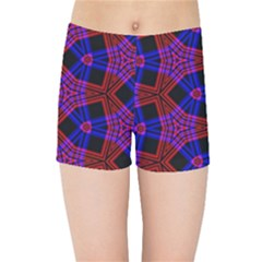 Pattern Abstract Wallpaper Art Kids Sports Shorts by Sapixe