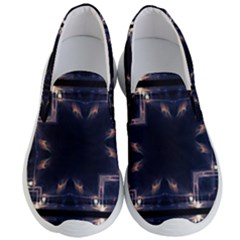 Cosmos Kaleidoscope Art Pattern Men s Lightweight Slip Ons by Sapixe