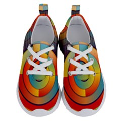 Background Colorful Abstract Running Shoes by Nexatart