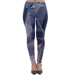 Abstract Background Abstract Minimal Lightweight Velour Leggings by Nexatart