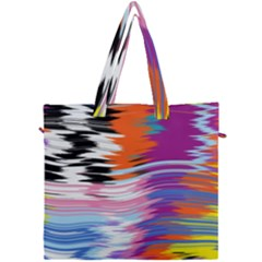 Waves                               Canvas Travel Bag by LalyLauraFLM