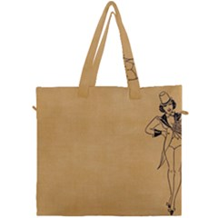 Flapper 1515869 1280 Canvas Travel Bag by vintage2030