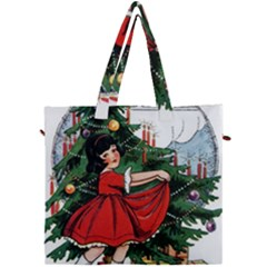 Christmas 1912802 1920 Canvas Travel Bag by vintage2030