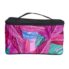 Leaves Tropical Reason Stamping Cosmetic Storage by Sapixe