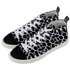 Cairns O Men s Mid Top Canvas Sneakers by mobla