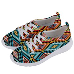 African Tribal Patterns Women s Lightweight Sports Shoes by Samandel