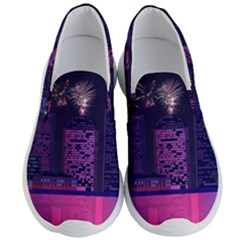 Architecture Home Skyscraper Men s Lightweight Slip Ons by Nexatart
