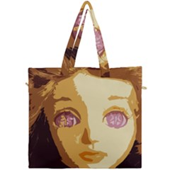 Butterfly Eyes Canvas Travel Bag by snowwhitegirl