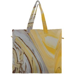 Yellow Jungle Canvas Travel Bag by WILLBIRDWELL