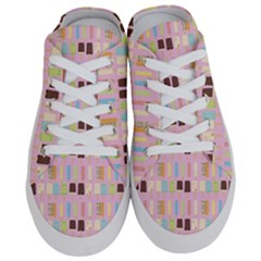 Candy Popsicles Pink Half Slippers by snowwhitegirl