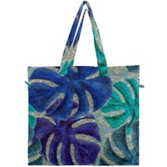 Pretty Leaves 6 Canvas Travel Bag by MoreColorsinLife