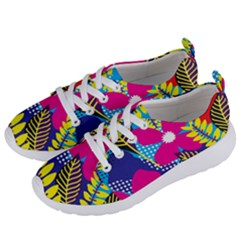 Design Decoration Decor Floral Pattern Women s Lightweight Sports Shoes by Simbadda