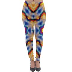 Pattern Abstract Background Art Lightweight Velour Leggings by Celenk