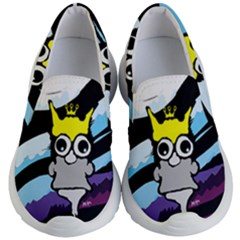 Demon Kingcat Kid s Lightweight Slip Ons by agoran