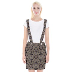 Pattern Decoration Abstract Braces Suspender Skirt by Nexatart