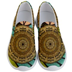 Kaleidoscope Dream Illusion Men s Lightweight Slip Ons by Jojostore