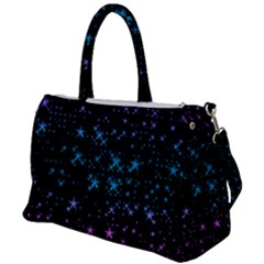 Stars Pattern Seamless Design Duffel Travel Bag by Jojostore