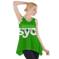 Psych Side Drop Tank Tunic