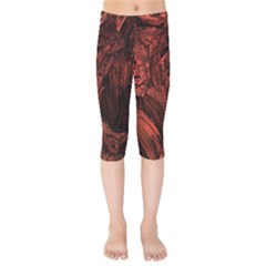 Hell Kids  Capri Leggings  by Bejoart