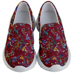 Painting Abstract Painting Art Kid s Lightweight Slip Ons by Bejoart