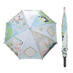 Straight Umbrellas Icon