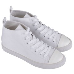 Women s Mid-Top Canvas Sneakers Icon
