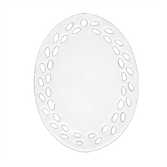 Oval Filigree Ornament (Two Sides) Icon