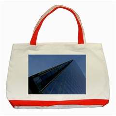 The Shard London Red Tote Bag by Londonimages